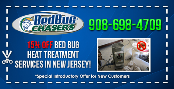 15% Off Bed Bug Heat Treatment Services Whitman Square, NJ